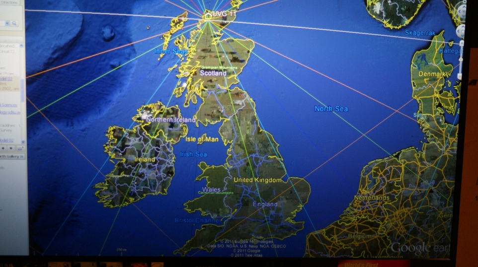 Ley Lines Good Sources Of Info And Detailed Map Of Where They - Map of ley lines in us