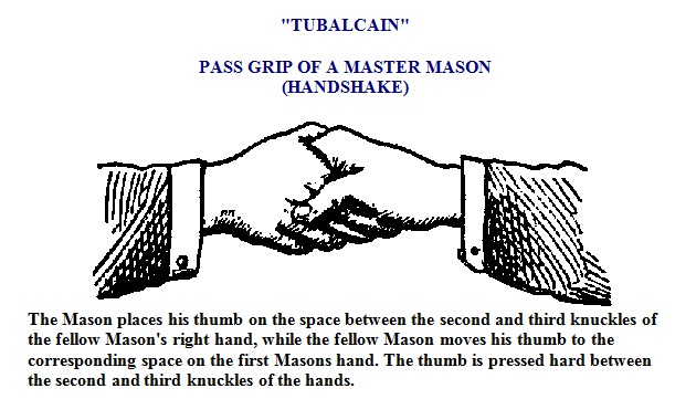 Image result for freemason handshake ring finger knuckle