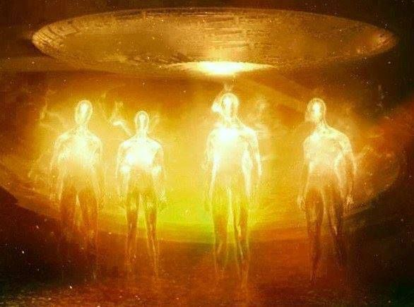 Image result for golden light beings