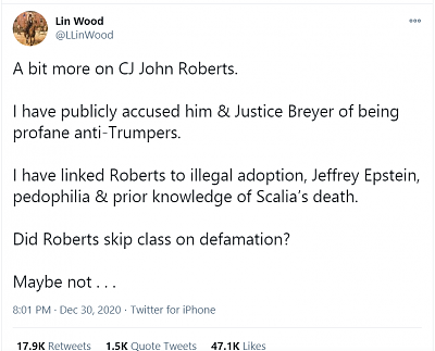 Click image for larger version  Name:tweet lin wood on judge roberts 1.png Views:7 Size:53.2 KB ID:45665