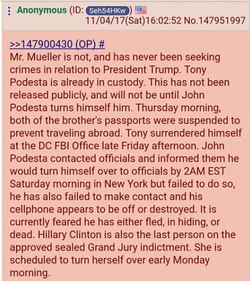 Click image for larger version  Name:4chan Podesta arrested.jpg Views:67 Size:84.2 KB ID:36430