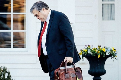 Click image for larger version  Name:U.S. Attorney General William Barr departs his home in McLean, Virginia. Win McNamee - Getty Im.jpeg Views:19 Size:76.0 KB ID:45557