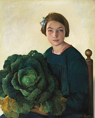 Click image for larger version  Name:Firmin Baes - Young girl with a cabbage, 1903.jpg Views:9 Size:428.3 KB ID:45122