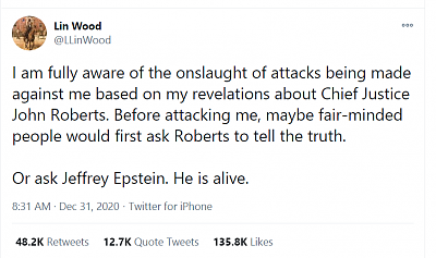 Click image for larger version  Name:tweet Lin wood epstein alive 12-31-20.png Views:35 Size:53.0 KB ID:45647