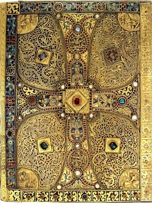 Click image for larger version  Name:Charlemagne's Lindau gospel back cover.jpg Views:213 Size:729.0 KB ID:32782